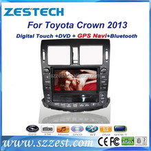 ZESTECH 2013 Hot Most Popular car radio for Toyota Crown GPS/Radio/3G/Phonebook/mp4/mp5