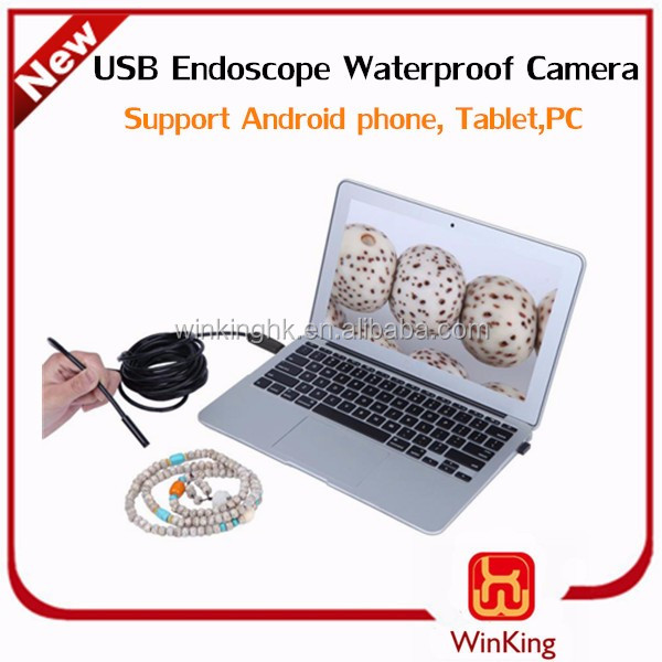 All PC and Android non camera phone USB Endoscope Inspection Camera waterproof 5M support Android phone and PC