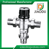 JD nickel plated forged 1/2 3/4 inch hot and cold water hot water temperature regulating valve brass thermostatic mixing valve