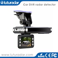 The First Manual Mini Vehicle Driving Security Camera Recorder/HD/G-sensor/Full Band Speed Testing Radar Detector,2 in 1