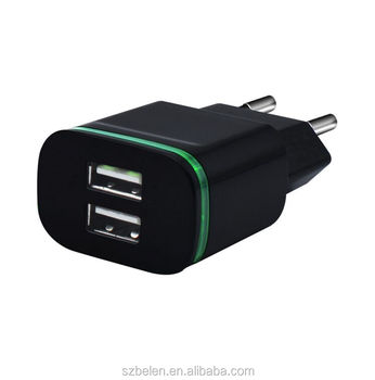 Alibaba Wholesale 5V 2.1A Multi Charger Usb Travel Charger For Mobile Phone