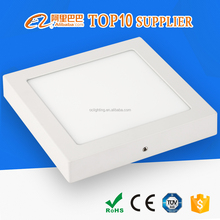 CE & ROHS Approved AC85-265V slim high lumen SMD2835 6W 12W 18W 24W surface mounted led panel light