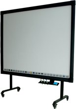 "82"" iBoard smart class infrared electronic whiteboard for kids, free standing interactive whiteboard with stand for sale"