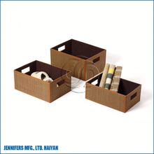 Chic white fancy costume storage boxes