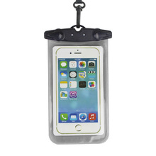 Universal hanging neck phone sets dust bag touch screen diving mobile phone case sealed package swimming waterproof bag