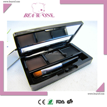 Eyebrow powder three colors palette popular cosmetic promotion gift