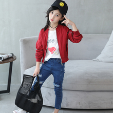 MCSN61 Cute Style Varsity Jacket Wholesale Carhartt Jacket Kids Heated Jacket