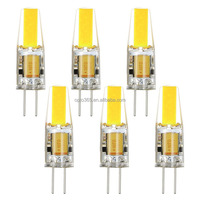 Silica Gel Housing LED Crystal Bulb Sapphire Chip G4 Pin Chandelier Light G4 Socket Ceiling Bulb