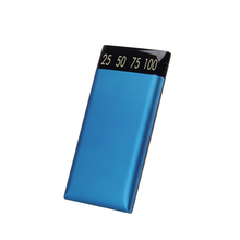 The New 2017 CE/FCC/RoHS/MSDS/UN38.3 White,Red, Blue portable power bank 15000 mah wholesale alibaba