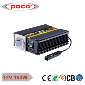 Intelligent Pwm Controlled 150W 12 Volt Power Inverter