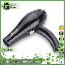 Strong power black professional high quality hair dryer AC motor