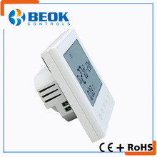 Factory wholesale touch screen underfloor heater smart room electrical symbols thermostat for hotel
