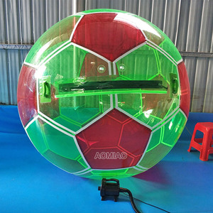 Kid inflatable hamster ball in pool inflatable human water ball zorb balloon