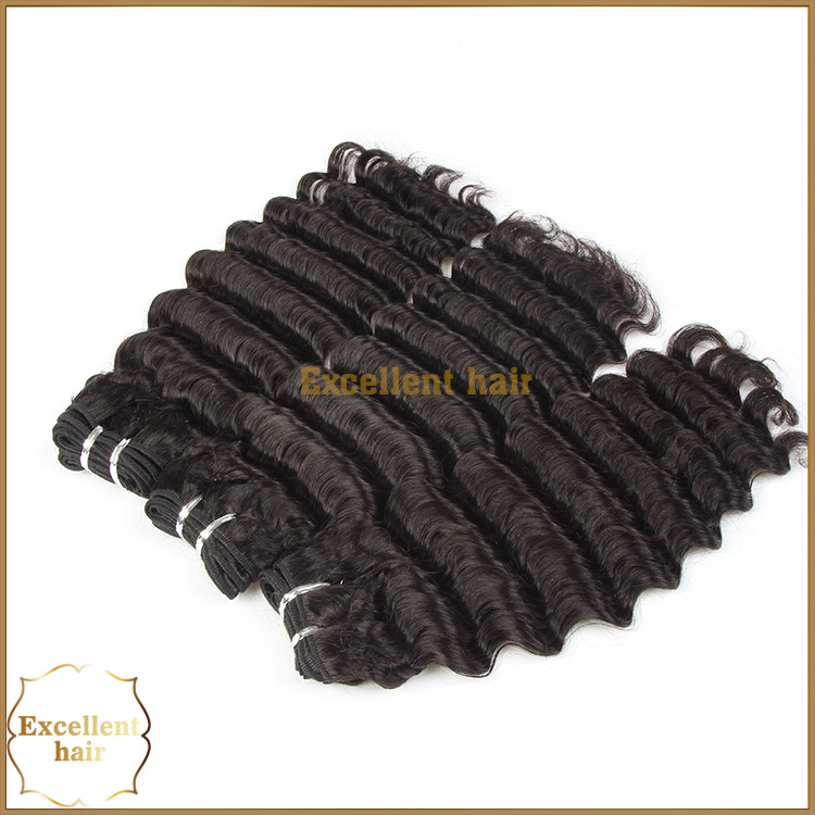 Malaysian best selling hair weave, machine made weft