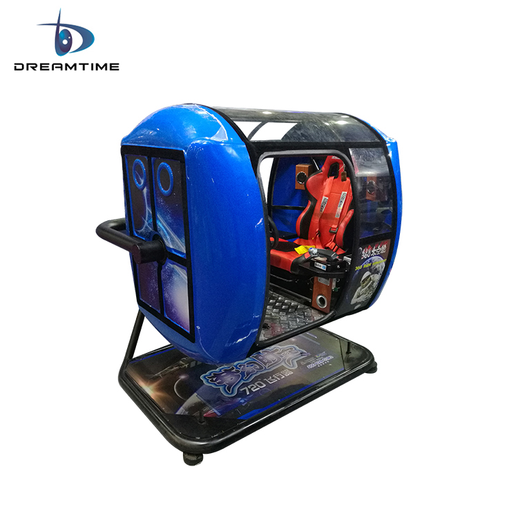 Fighting simulator game machine motion amplitude 720 degree VR flight simulator instruments