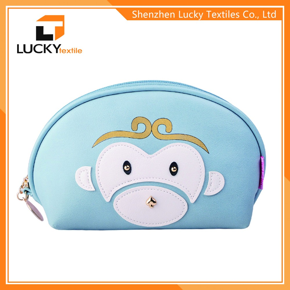 Latest new model cosmetic cases cheap medium sized makeup bag