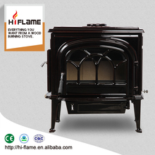Beauty ename Wood burning Stoves for home heating and decoration HF737UE Brown