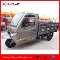 Made in China Shineray High Quality Closed Cabin Three Wheel Covered Motorcycle With Steering Wheel