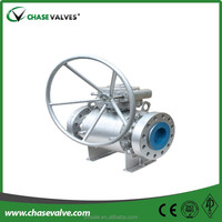 Pipeline 3 pieces stainless steel trunnion mounted ball valve
