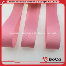 100%Polyester Material and Solid Color Pattern label ribbon