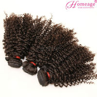 homeage super Charming 100% raw unprocessed virgin cheap peruvian curly hair
