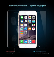 0.22 Mm / 0.33 Mm Tempered Glass Anti Shock Screen Protector For iPhone 5 5C 5S Oem/Odm