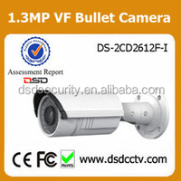 ip camera audio input output supported hikvision ir cctv bullet camera with Vari-focal lens DS-2CD2612F-IS