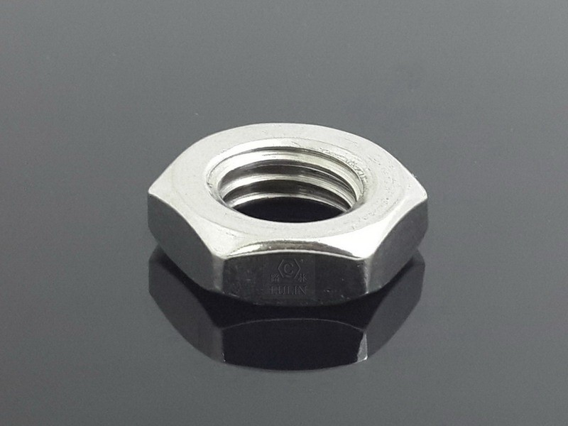 SS304 HEX THIN NUT DIN439 M8