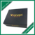 Hot stamping printing custom rigid cardboard magnetic closure gift box with cut out EVA / foam insert
