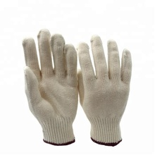 10 gauge cotton knitted cold winter wheelchair protective gloves