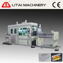 Professional made custom design ps foam containers vacuum thermoforming machine for sale