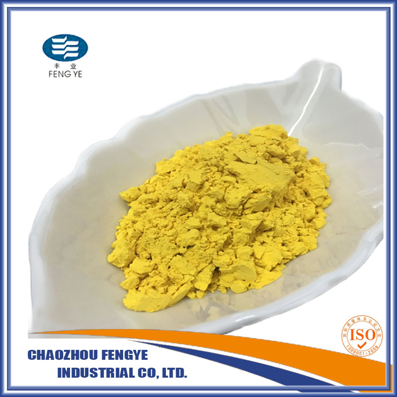 V.Yellow color ceramic colorful glass ceramic pigment at factory price