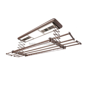 foshan factory aluminum electric ceiling mounted clothes drying rack