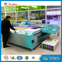 Cheapest price digital UV printing machine, flatbed uv printer with 8 pcs RICOH GEN5