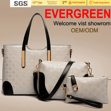 New valentine gift products set hand bags women cheap wholesale handbags ladies fashion handbags China tote leather handbag