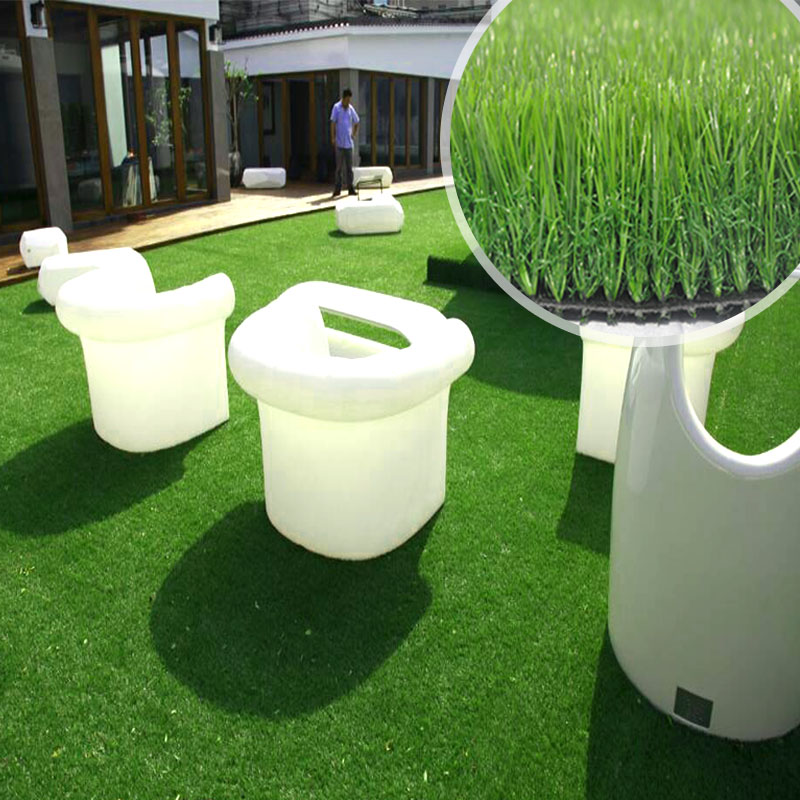 Decoration Artificial Plastic Lawn