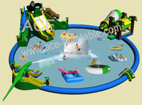 best quality commercial grade giant inflatable water park games for sale