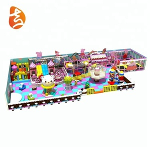 Candy series eco-friendly children indoor playground for sale