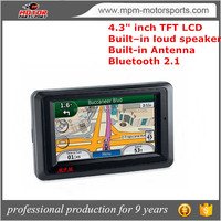 4.3 inch Navigation for motorcycles with inner speaker