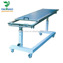 YSX1056 top quality low price mobile Hydraulic control c-arm x ray table