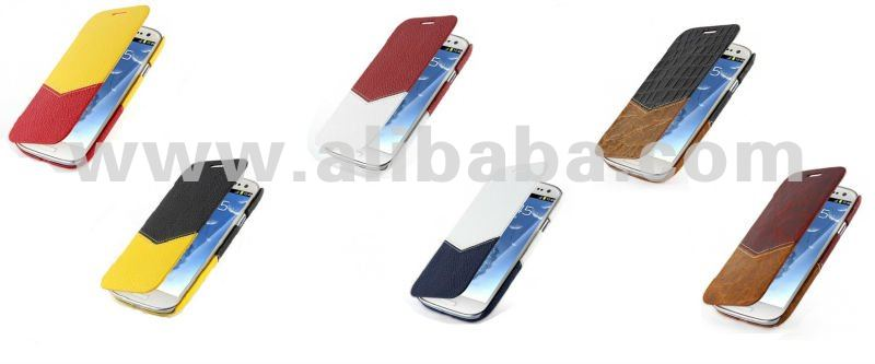 TETDED Premium Cowhide Leather Case for Samsung Galaxy S3/SIII GT-I9300 -- Dijon II (Venus)