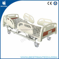 BT-AE113 China manufacturer CE ISO 3 movements hospital mobile three function hospital bed