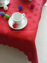 100% polyester jacquard table cloth for Christmas