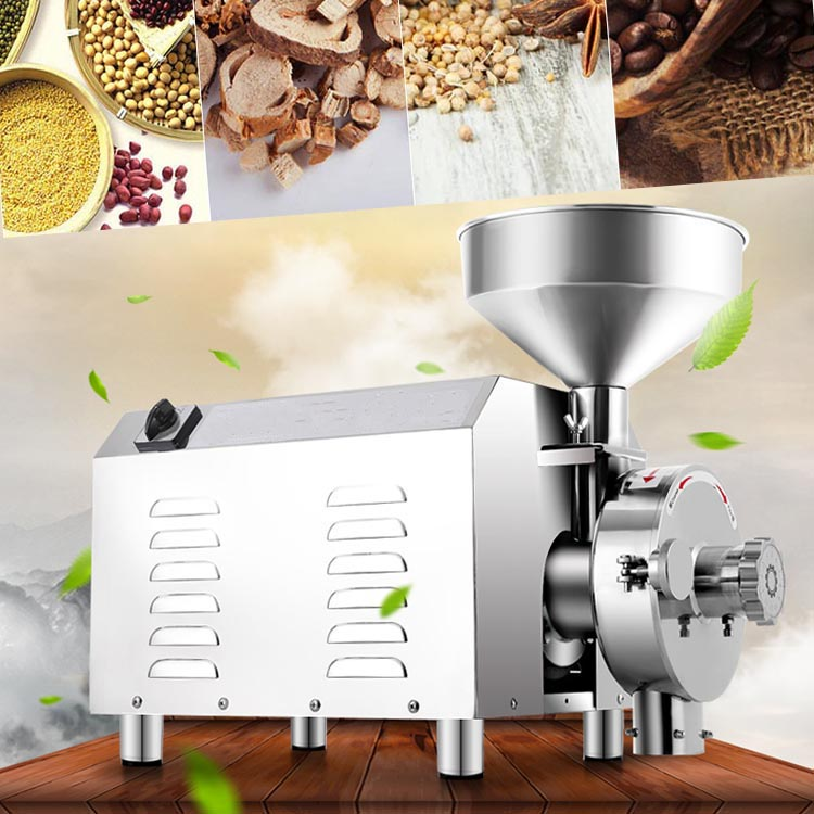 Commercial spice industrial coffee grain grinder