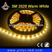 12v vespa accessories led strip lights 3528 300 leds CE & RoHS 3 years warranty