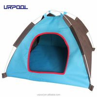 Foldable Indoor Summer Waterproof Dogs Cats Tent Bed Outdoors Camping Pet Tent House Kennel Playpen doghouse