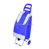 Trolley, Supermarket equipment Folding Shopping Trolley/Folding Shopping Cart/Shopping Trolley Bag
