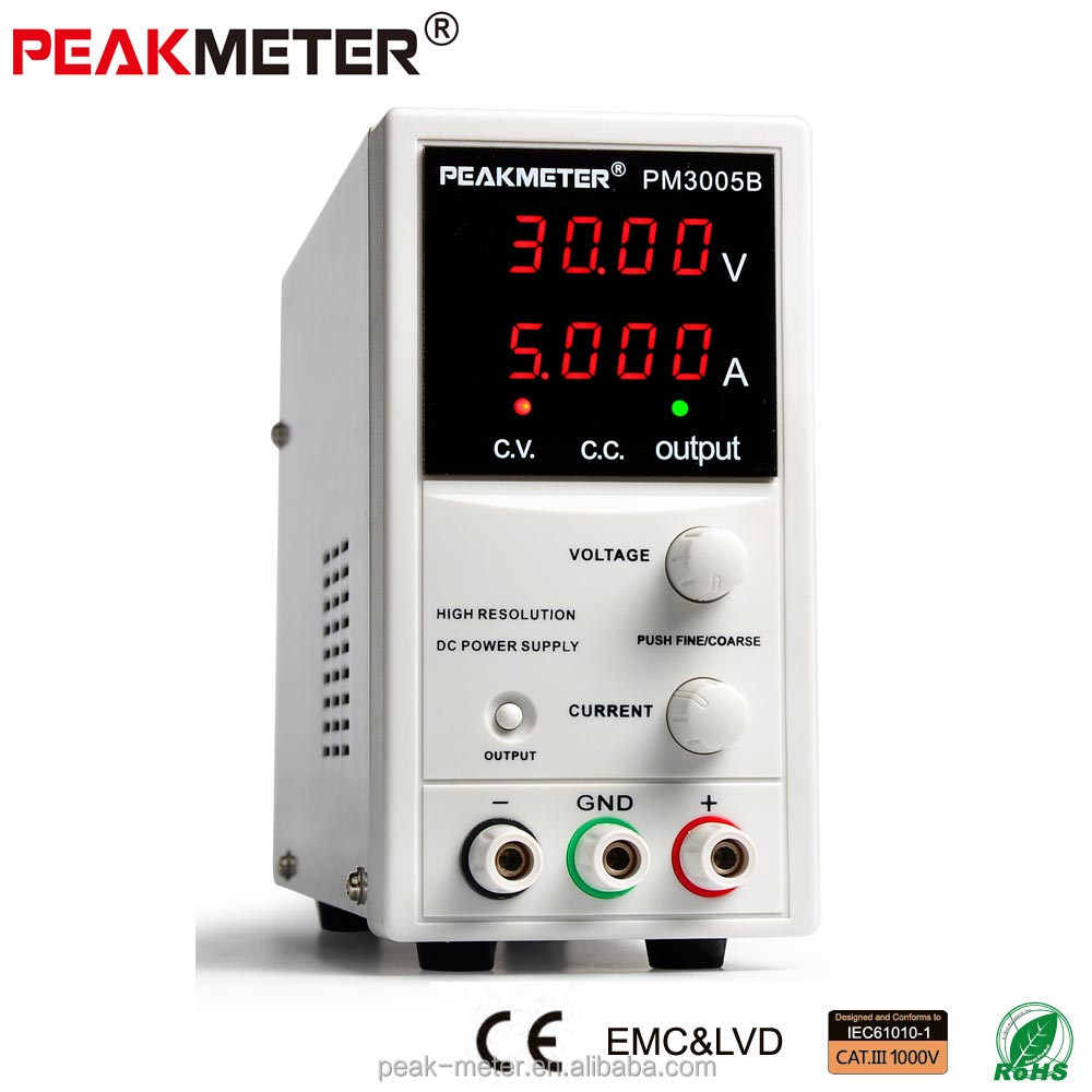 110V DC power supply PM3005B with CE ROHS certified