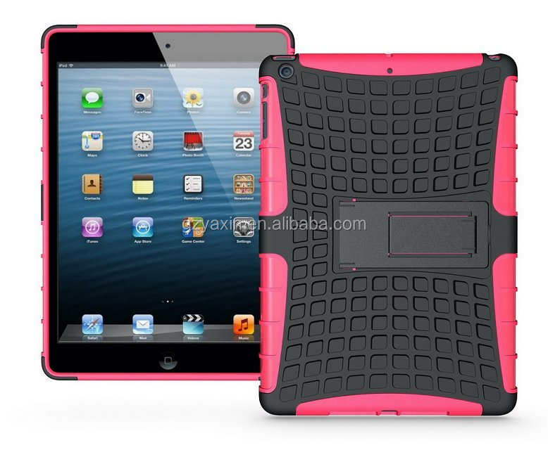 For ipad air case,Duty PC + TPU Combo Case for iPad Air with Kicktand