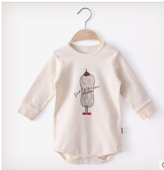 The thin, infant long-sleeve bodysuit for 1-2years old